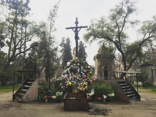 Almost the heart of the cemetery