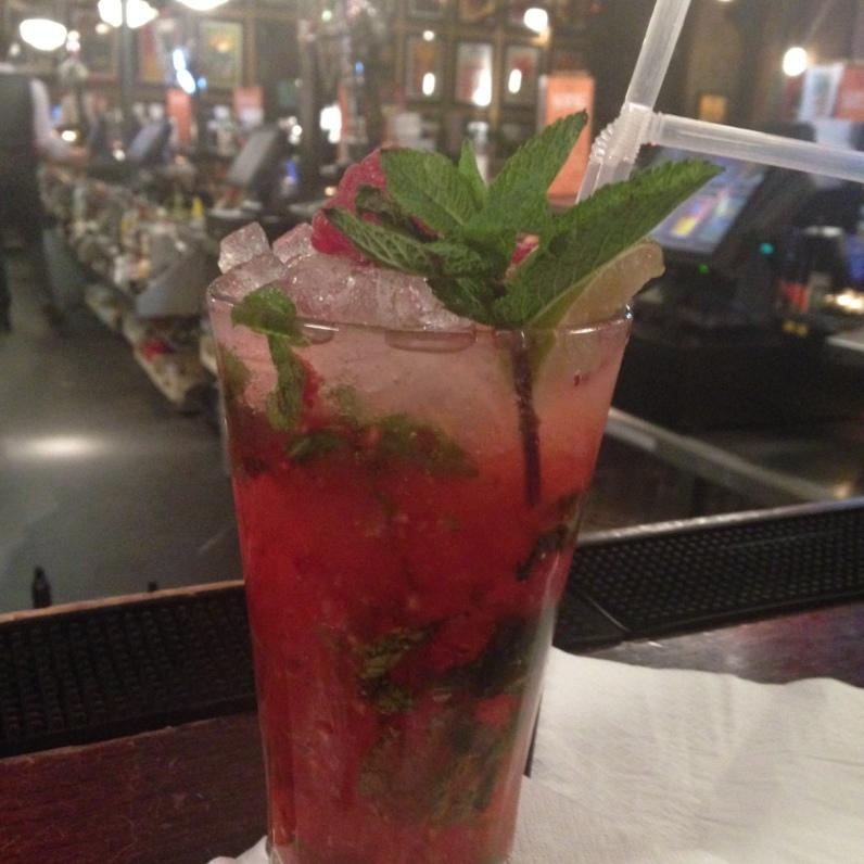 Drink I got at Revolucion de Cub