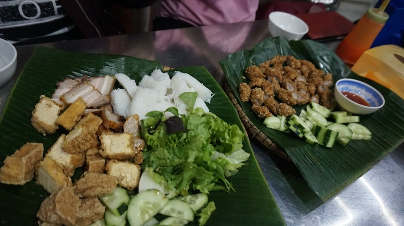 First meal in Vietnam