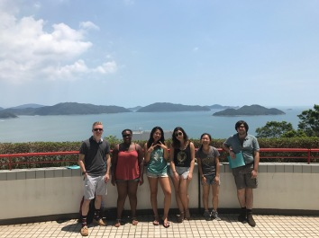 Hong Kong, Clear Water Bay, Pierce, Meghan, Friends Hanging Out w: a View of Clear Water Bay