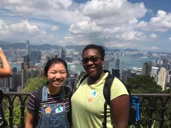 Hong Kong, Hong Kong Island, Pierce, Meghan, Victoria Peak