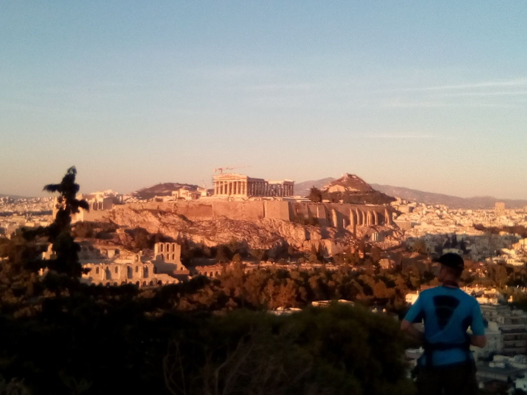 Acropolis at Sunset, Athens