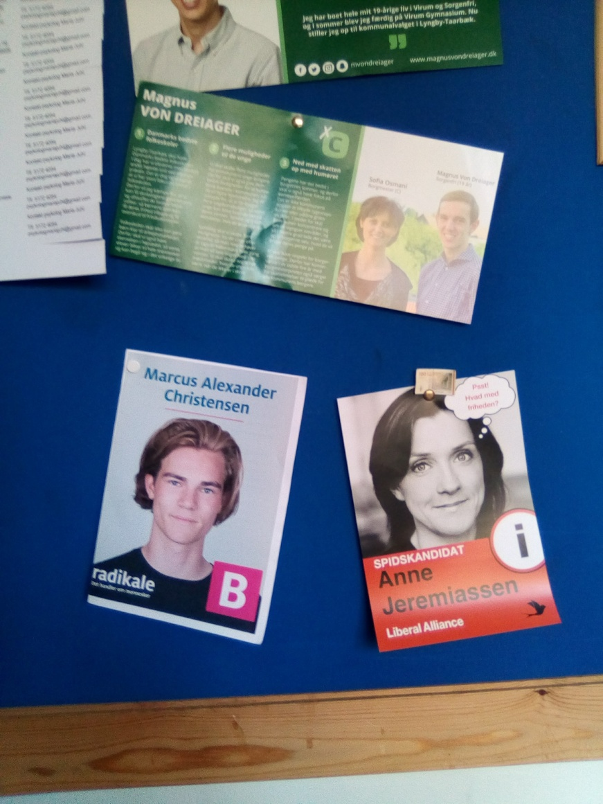 Some of many Danish flyers I still cannot read
