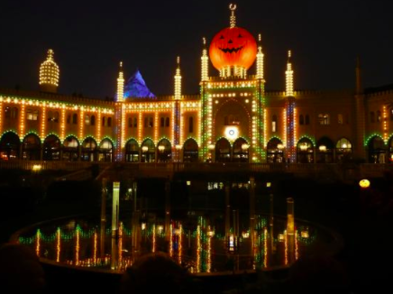 Another view of Tivoli Gardens during Halloween season. tripadvisor.co.uk