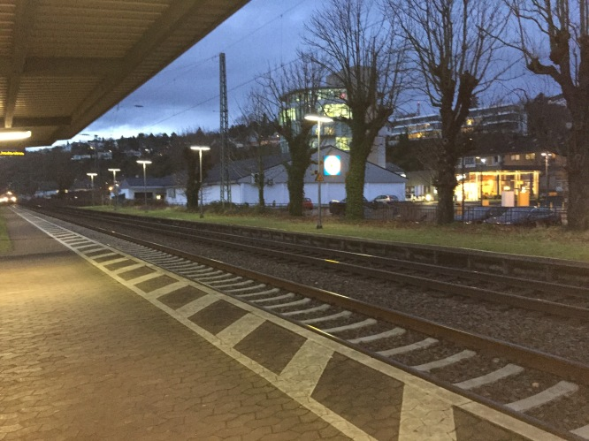 Train station in Vallendar