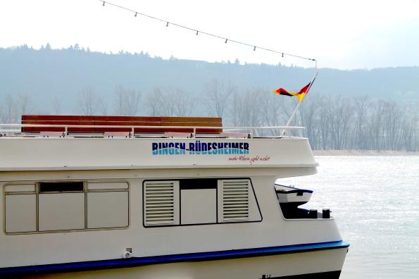 A boat ride along the Rhine