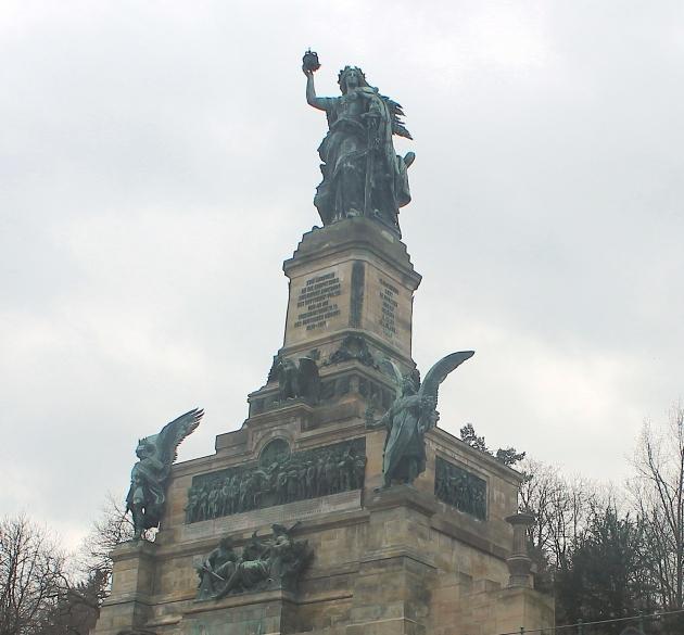 Monument up close