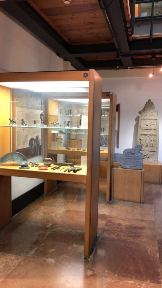 Ancient artifacts at the Archaeological Museum