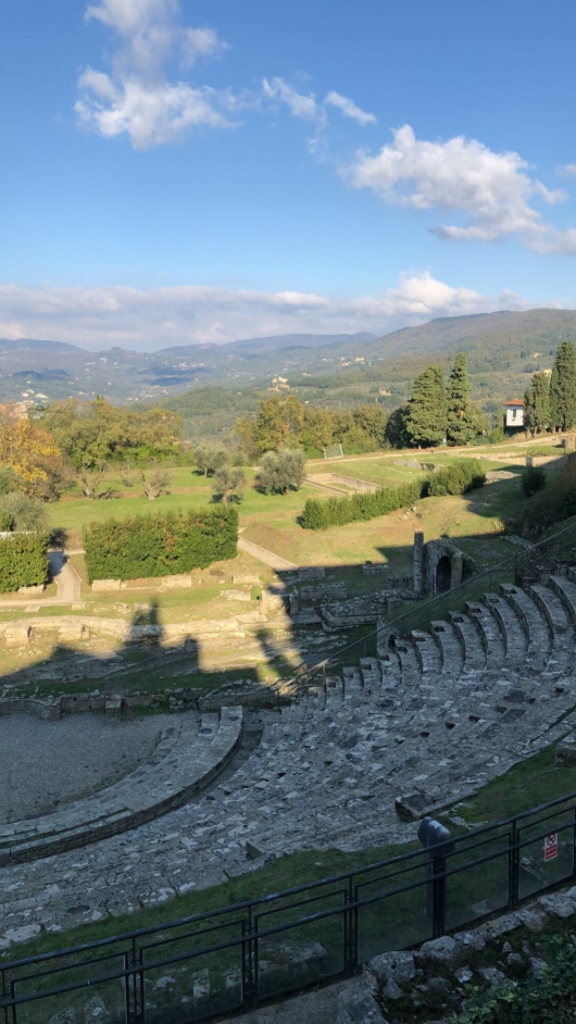Roman theater at the Archaeological Area