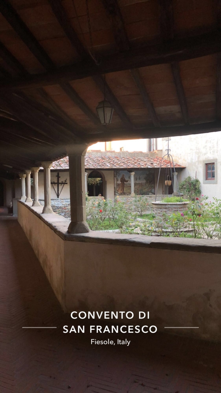 Inside the Convent of San Francesco