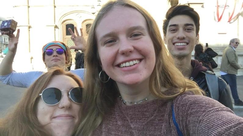 Austrian friends in Vienna