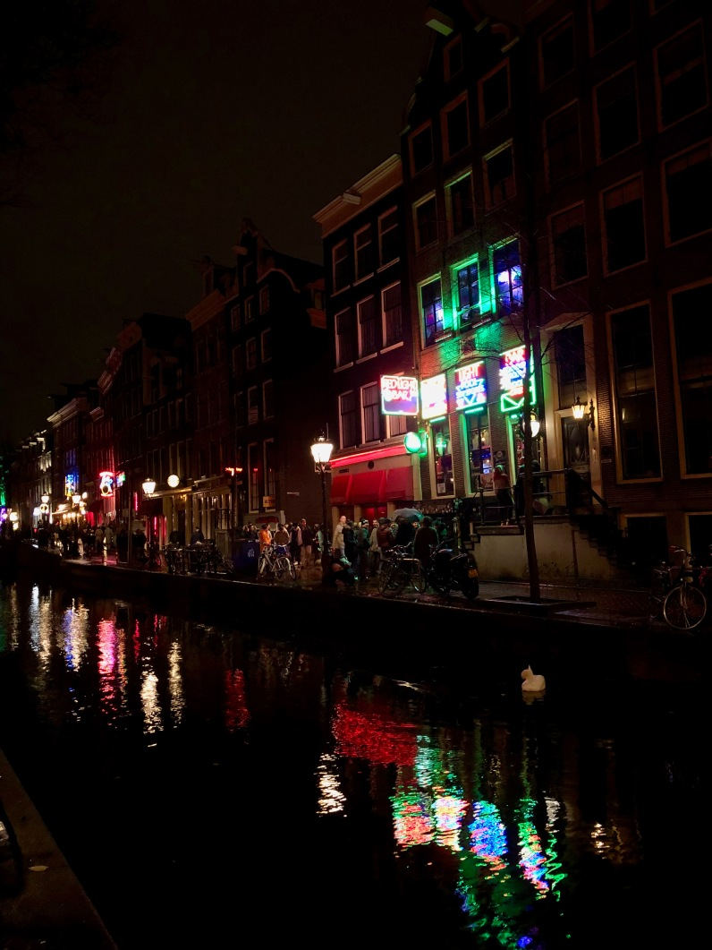 A peek at Amsterdam's Red Light District