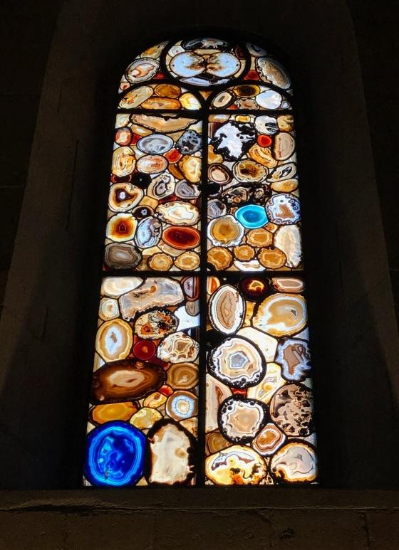 Really beautiful agate windows