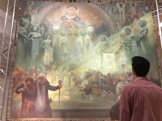 """Learning about Czech history through """"The Slav Epic"""" by Alphonse Mucha"""